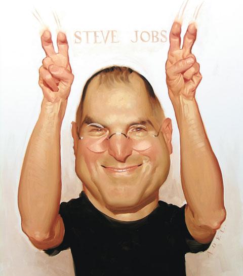 "Steve Jobs ""I have Pre presentation jitters…"""